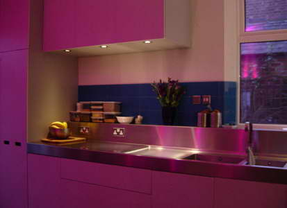 Dise o de cocinas rosas for Cocinas de color rosa