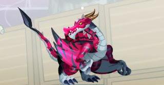 imagen del dragon depredador