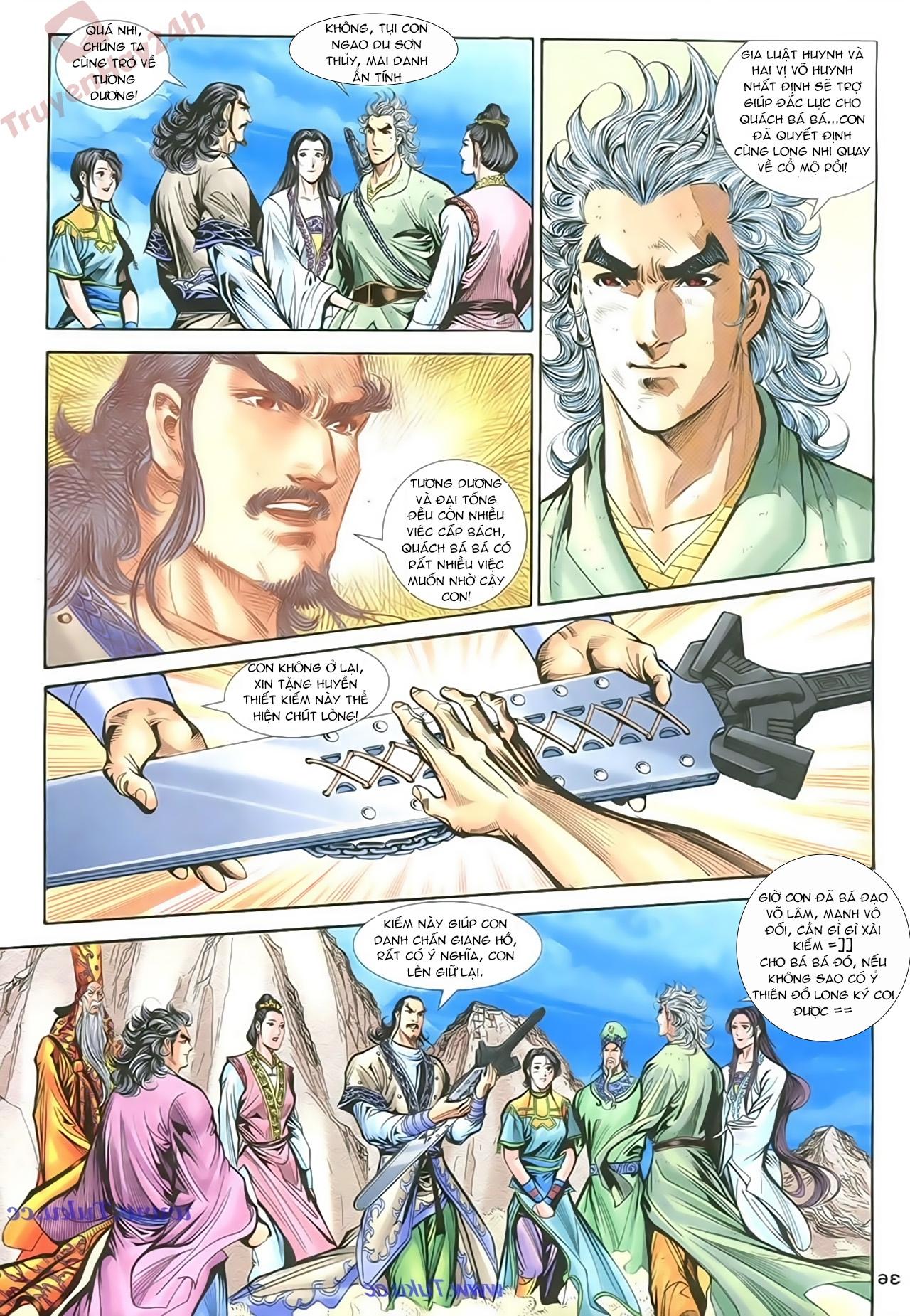 Thần Điêu Hiệp Lữ chap 86 – End Trang 35 - Mangak.info