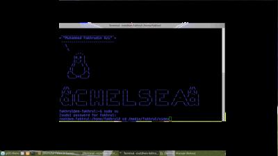 Memutar Video di Terminal dengan kode ASCII