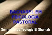 BACHAREL EM PSICOLOGIA PASTORAL