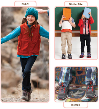 Perfect shoes for Back-to-School - Keen, Merrell & Stride Rite