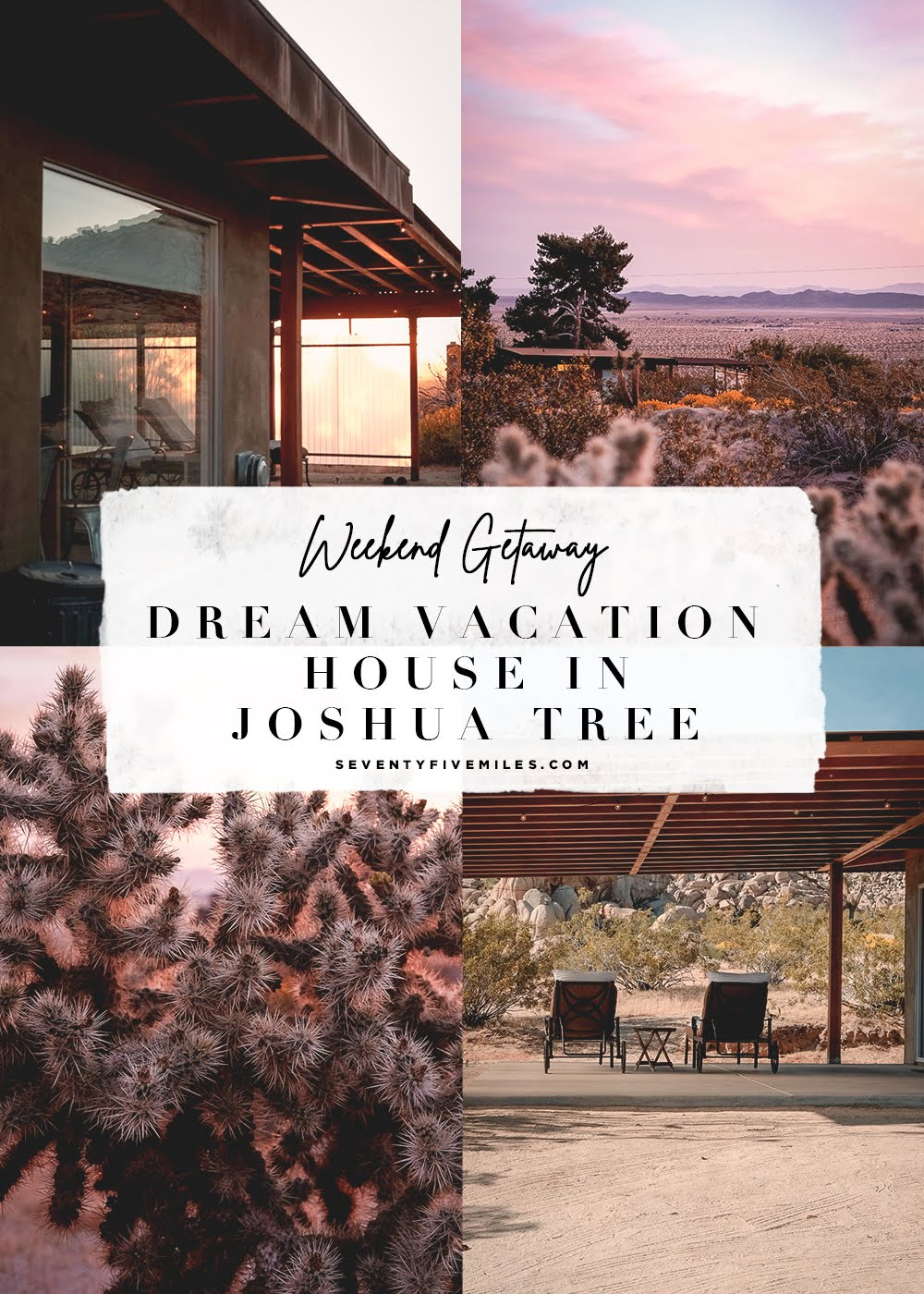 DREAM VACATION HOUSE IN JOSHUA TREE