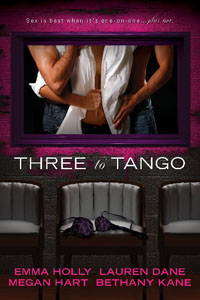 Post Thumbnail of Advent Calendar Day 8: Three to Tango Anthology + Giveaway