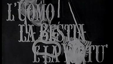 """Stenos Version eines Theaterstücks von Luigi Pirandello - frühe """"Commedia all'italiana"""""""