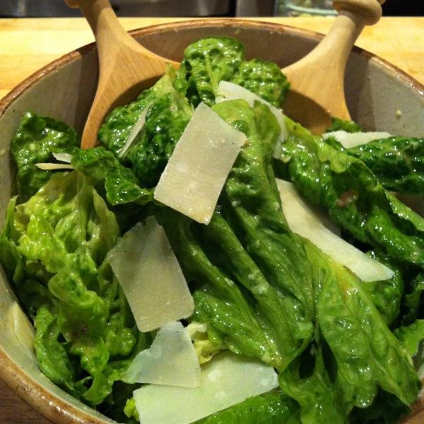 caesar salad the original daddy can cook. Black Bedroom Furniture Sets. Home Design Ideas