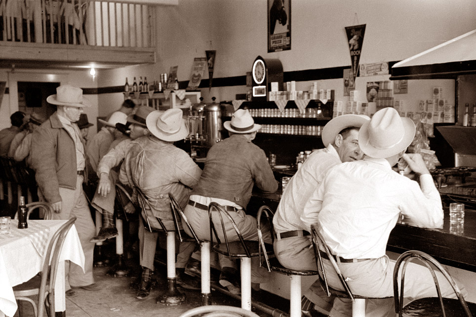 Old Diners In 1939 40 Vintage Everyday