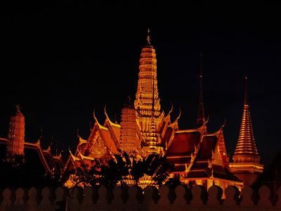 Bangkok Palacio Real Iluminado