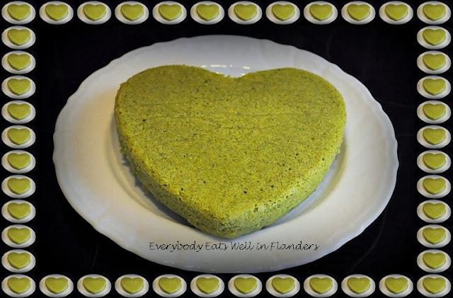 Matcha Green Tea Cake Rice Cooker
