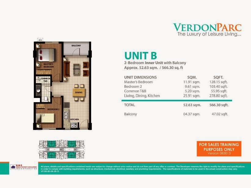 Verdon Parc Davao Unit B