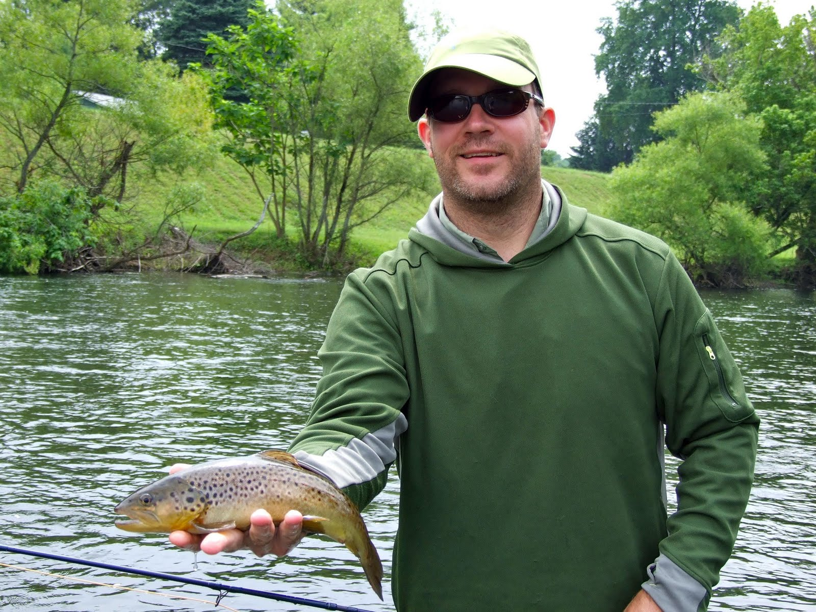 Chagrin river outfitters one last trip to the yough for for Youghiogheny river fishing