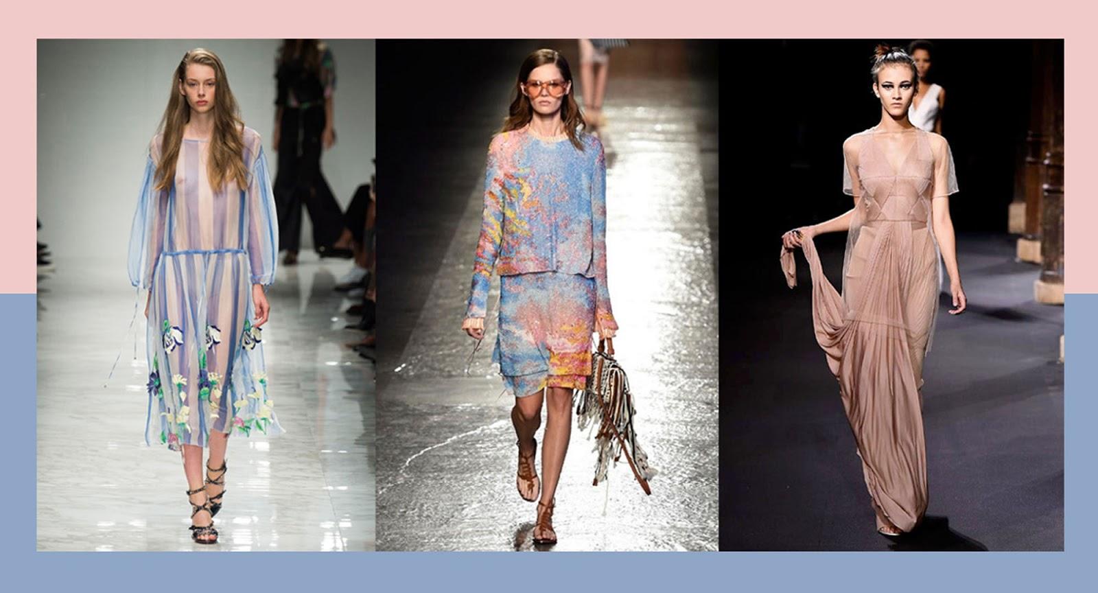 Eniwhere Fashion - Pantone 2016 - Rosa Quarzo Azzurro Serenity