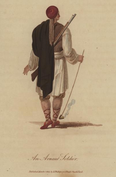 An Arnaut Soldier