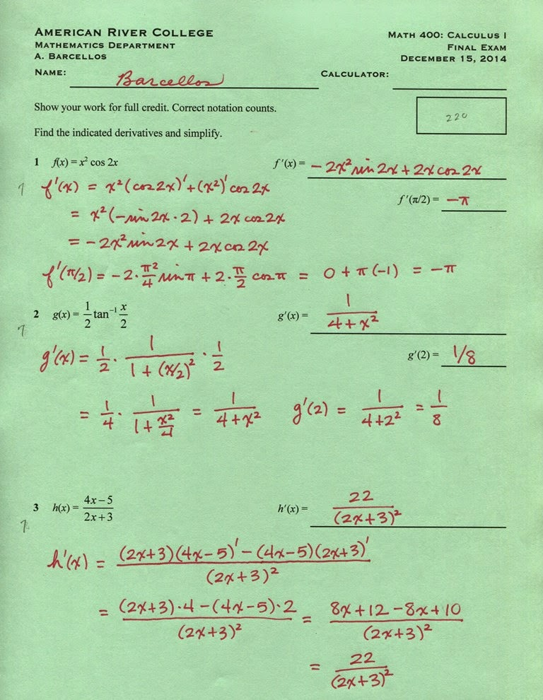 math 156 final exam Winter 2018: eecs final exam schedule 1 3/28/18 subject catalog descr section exam seq exam tm cd exam date start time end time facil id capacity tot enrl instructor.