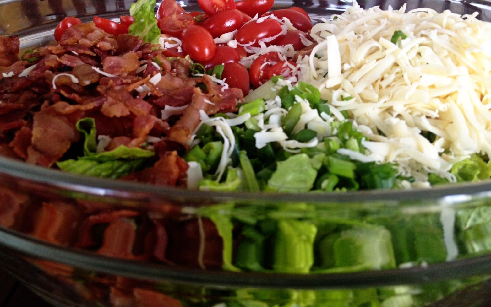 Mom Explores Michigan: Good Eats: BLT Salad