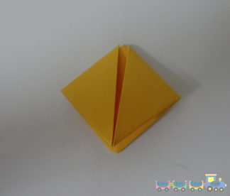 Simple way to fold a paper boat 4