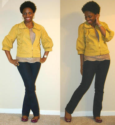 Casual Looks with Loft Lace Tee