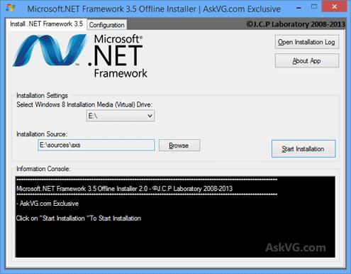 Cara Instal Offline NET Framework 3.5 Windows 8 / 8.1 ...