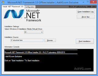 Cara Instal Offline NET Framework 3.5 Windows 8 / 8.1