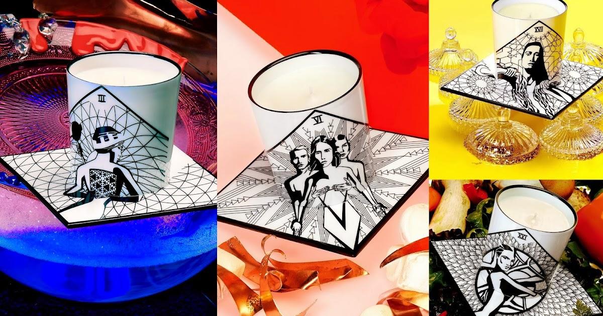 mich le in wonderland by khol s 39 inspire des cartes du tarot pour ses sublimes bougies. Black Bedroom Furniture Sets. Home Design Ideas