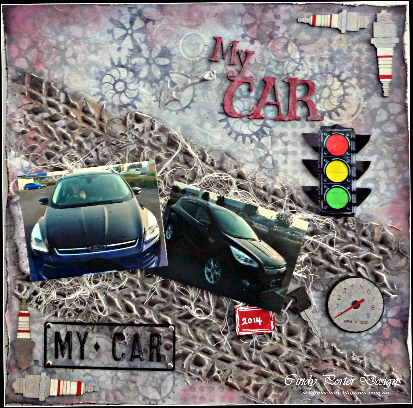 My Car & Walking Wounded « Scrap FX Blog