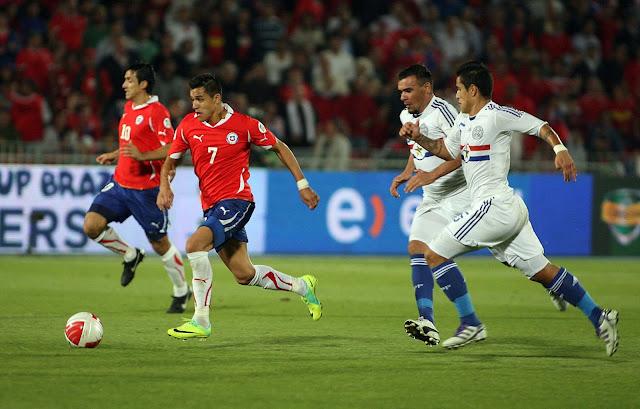 Chile vs Paraguay en vivo