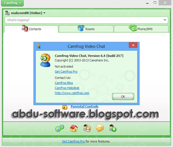 Camfrog Video Chat 6.4 Build 257