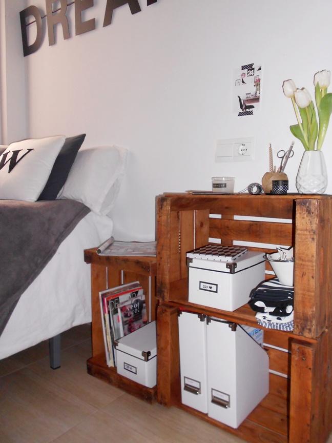 Mi estanter a con cajas de fruta la garbatella blog de - Estanterias con cajas de fruta ...
