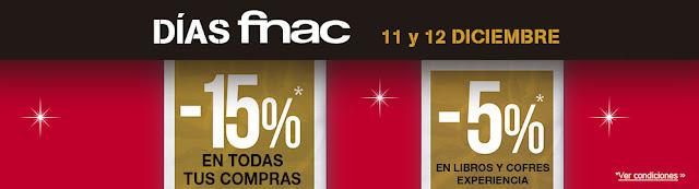Mejores móviles libres Días Fnac 11 y 12 de diciembre de 2015