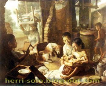 Bayi Rakyat, Lukisan Realis Herri Soedjarwanto