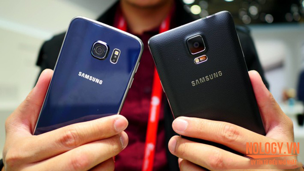 So sánh Galaxy S6 2 sim và Note 4 2 sim