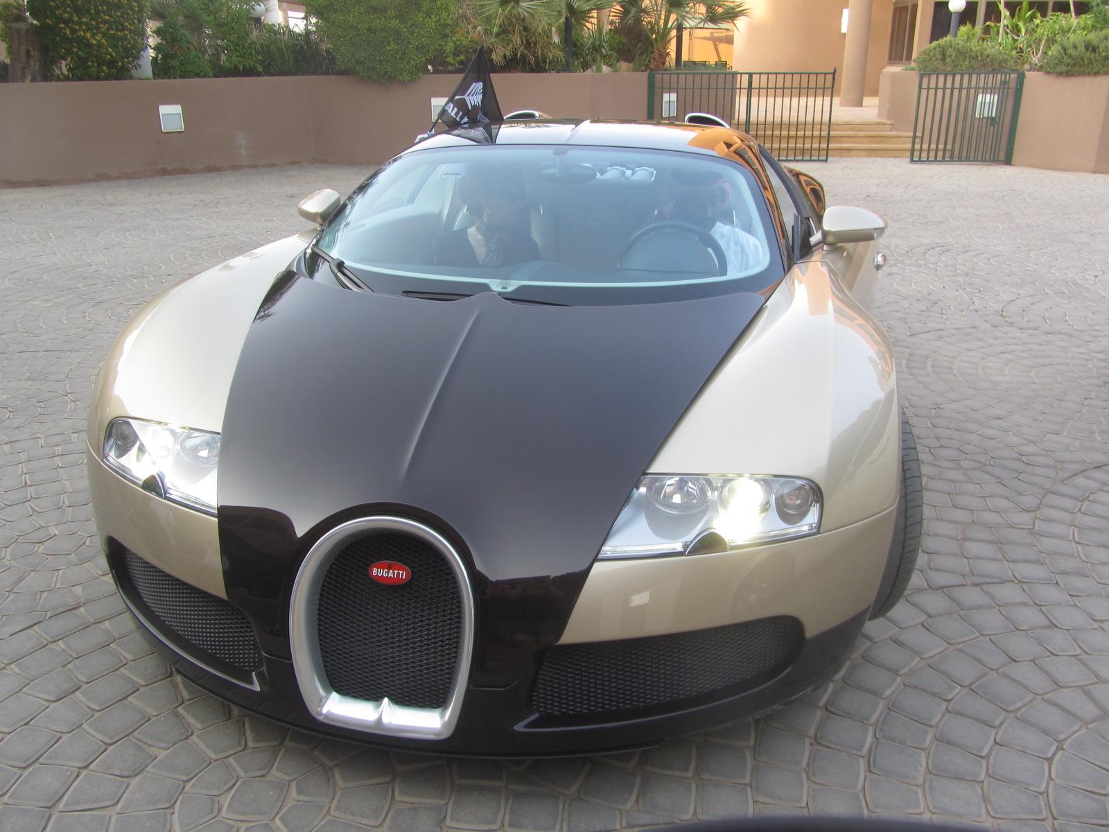 Spin In A Bugatti Veyron