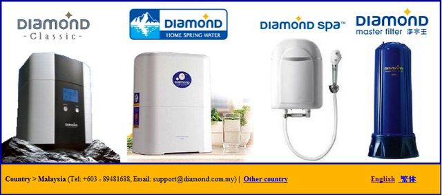 Water Filter by Diamond.com.my