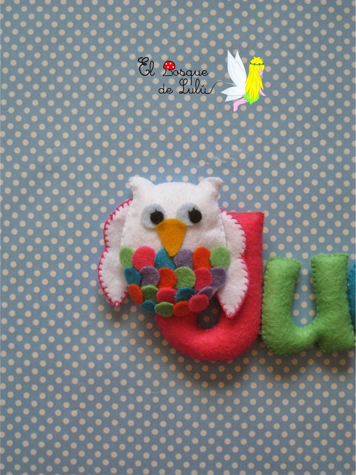 nombre-fieltro-buho-name-banner-regalo-nacimiento-decoración