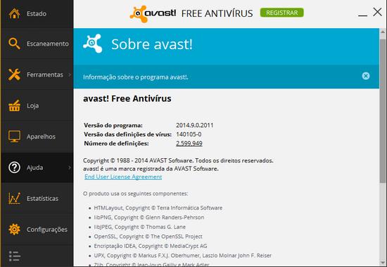 licencia avast free antivirus 2016 hasta 2038