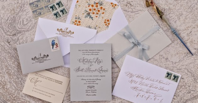 tutorial floral lace wedding invitations