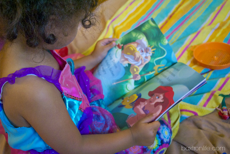 The Little Mermaid Dress-Up Costume and Story book #shop