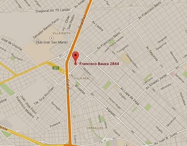 DONDE ESTAMOS (hacé click en el mapa que te muestra el mapa completo en google maps)
