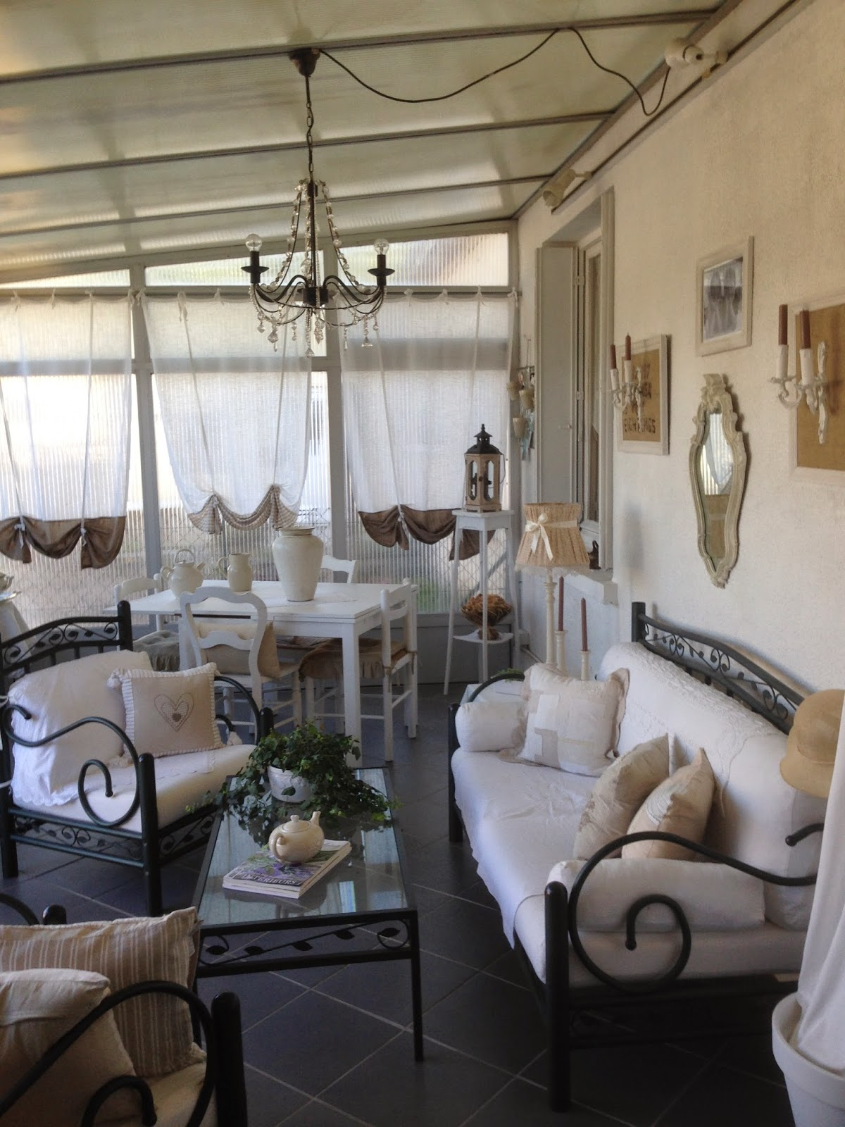 Shabby Eve: AMENAGEMENT VERANDA CREATION SHABBY CHIC