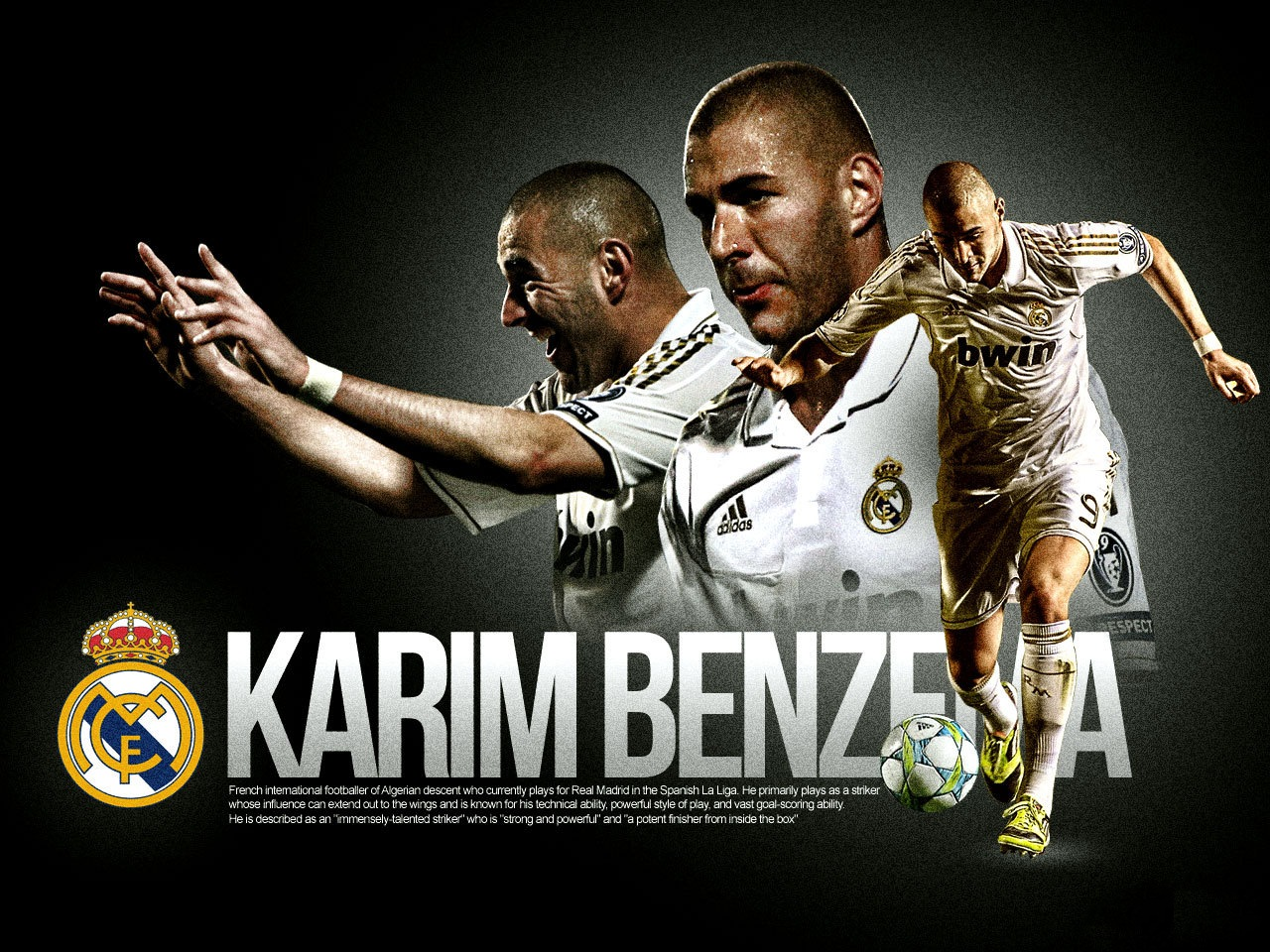 Karim Benzema Real Madrid Wallpaper 2012 01