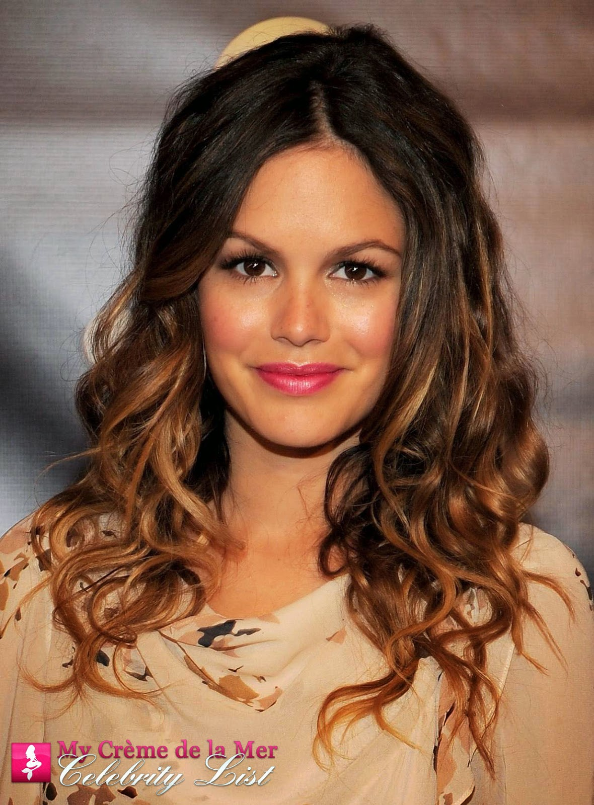 Jumper and The O.C. actress Rachel Bilson is on the My Crème de la mer Celebrity List - she uses La Mer and says;