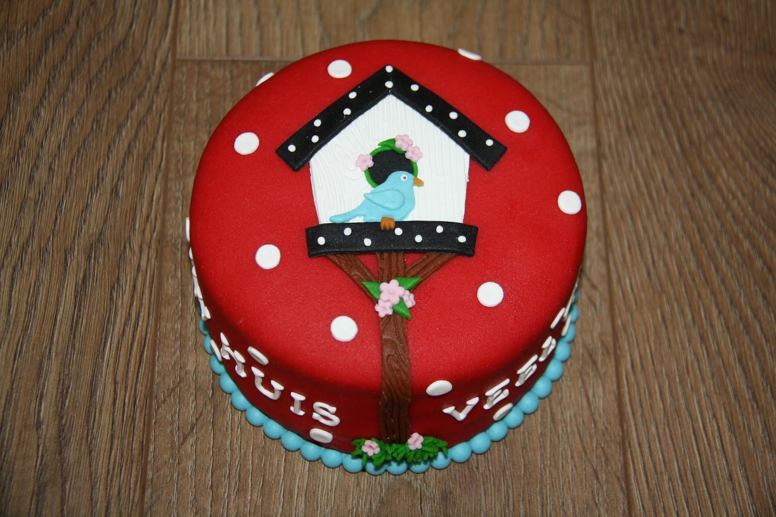 verjaardagstaart aan huis