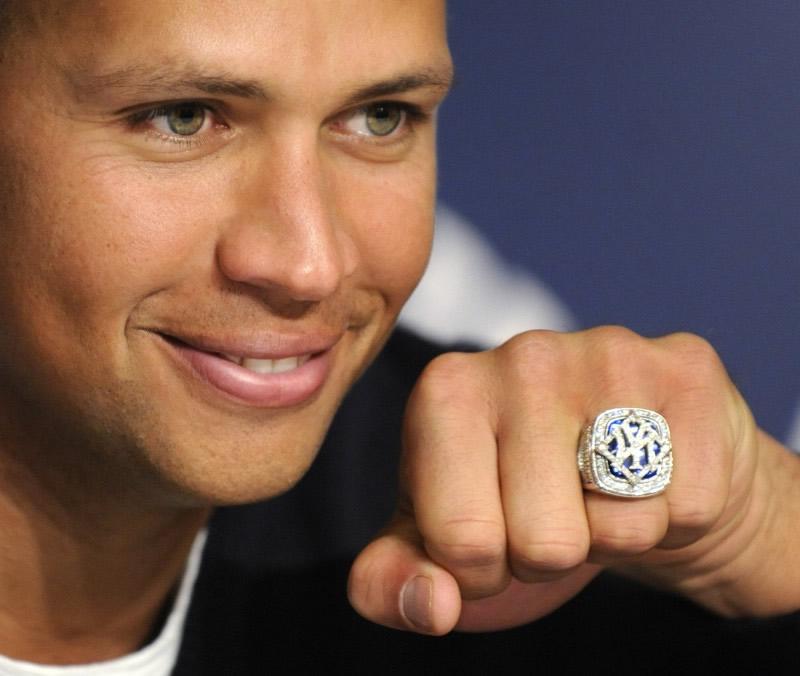 Alex Rodriguez World Series Rings