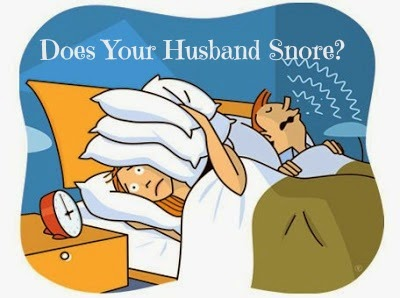 How To Deal With Snoring Husband