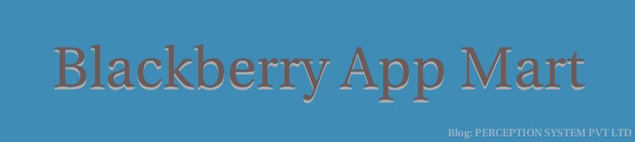 Blackberry AppMart