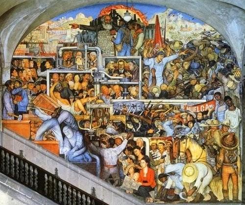 Artes diego rivera for Diego rivera la conquista mural
