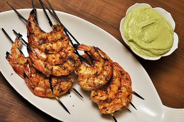 Smoky Paprika Grilled Shrimp