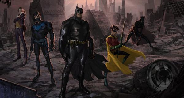 Serie animada Batman: Tierra de Nadie