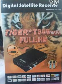 NOVA ATUALIZAÇÃO TIGER T800+ MINI HD  V2.12 - 31-01-2016