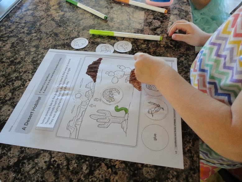 Free Worksheets magic school bus video worksheets : Learners in Bloom: Learning About Desert Habitats - Pre-K ...